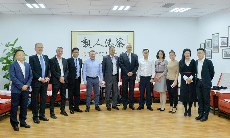 Shenyang Business Environment Construction Bureau meets with the European Chamber